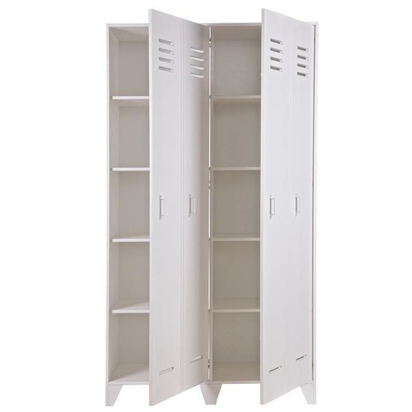 spindschrank schrank kleiderschrank stijn kiefer grau oder weiss new maison esto ihr. Black Bedroom Furniture Sets. Home Design Ideas