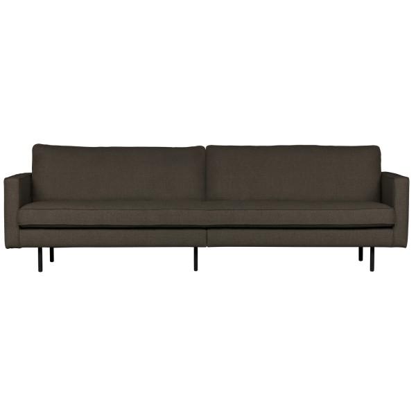 BePureHome 3 Sitzer Sofa RODEO stretched warm grau braun