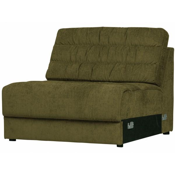 Zusatzelement für 2, 3, 4 Sitzer und Ecksofa Sofa Date vintage grün Couch