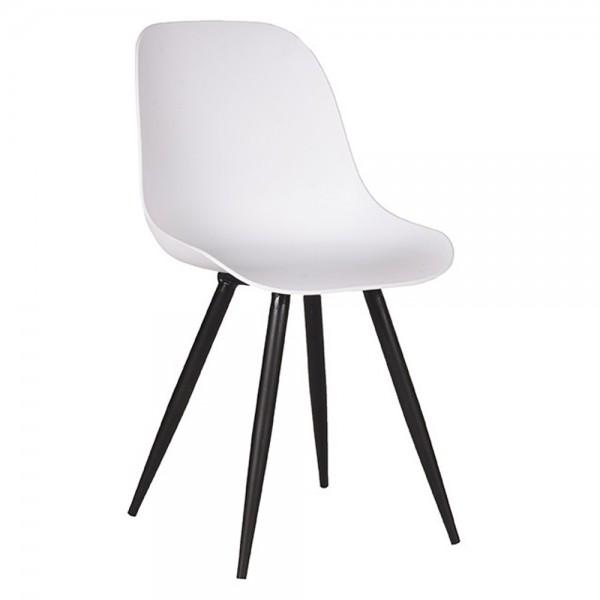 Schalenstuhl Monza weiß Esstisch Stuhl Esszimmerstuhl Esszimmer Dinnerstuhl Stühle