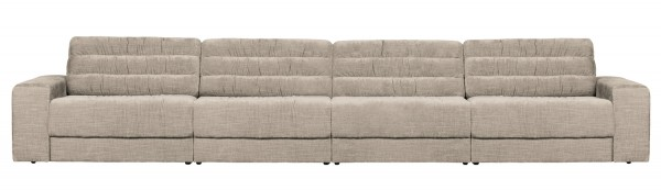 BePureHome 4 Sitzer Sofa Date vintage nougat Couch