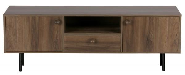 Woood TV Möbel Prato 145 cm Nussbaum Dekor
