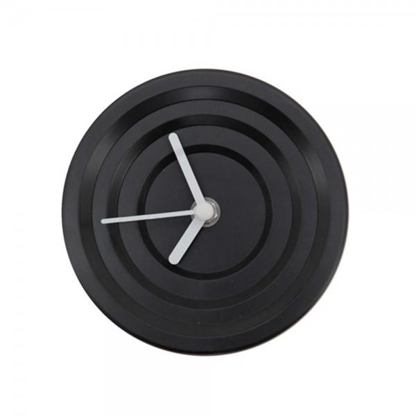 Wanduhr HYPNO rund Ø 13 cm Kunststoff black Wanduhr Clock Uhr batteriebetrieben