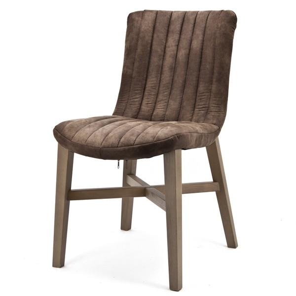 Stuhl DAISEN Küchenstuhl Esszimmerstuhl Esszimmer Polsterstuhl Stoff gepolstert