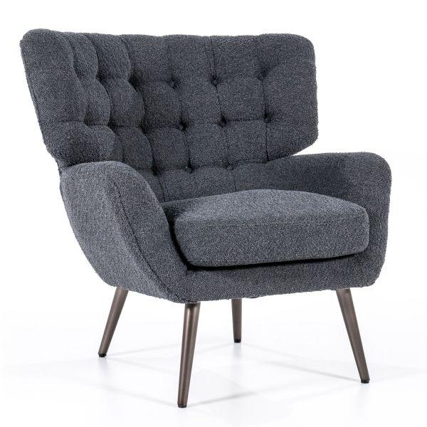 Sessel Loungesessel Peter Leinen schwarz