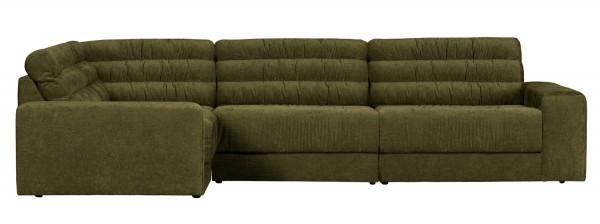 BePureHome Ecksofa Date vintage grün Longchair links