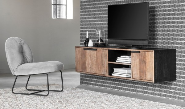DTP Home TV Möbel Cosmo No.1 medium hängend Teakholz