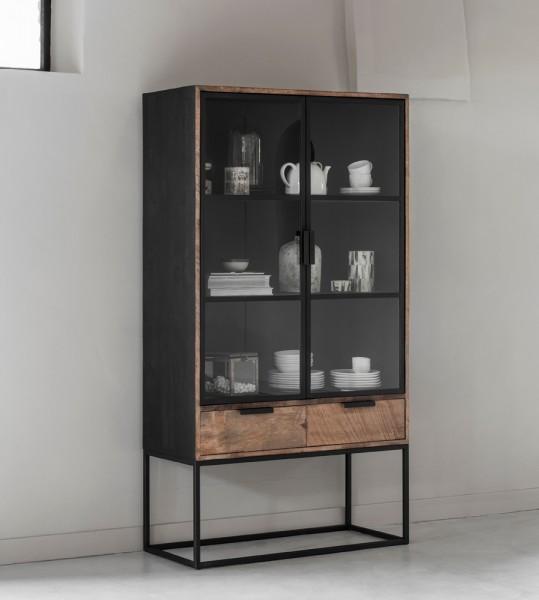 DTP Home Cosmo Vitrinenschrank No.1 recyceltes Teakholz
