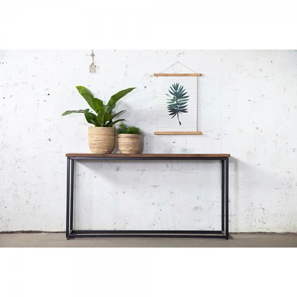 Industrie Konsole Konsolentisch 150 cm WILLEM Holz Metall Sideboard