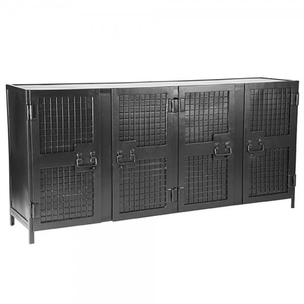 Industrie Kommode Gate 170 Cm Sideboard Metall Schrank Türenschrank