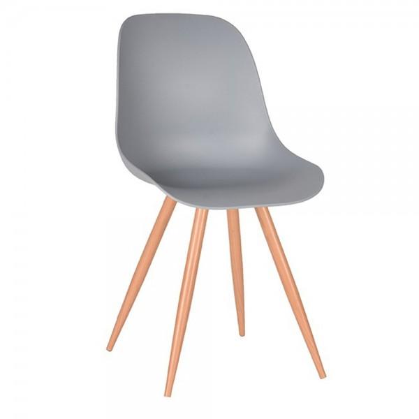 Schalenstuhl Rimini grau Esstisch Stuhl Esszimmerstuhl Esszimmer Dinnerstuhl Stühle