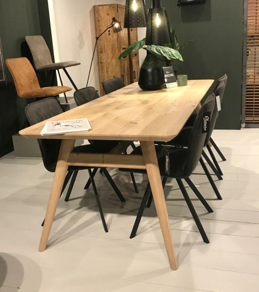 Esstisch Scandi 200 x 90 cm Eiche Esszimmertisch Tisch