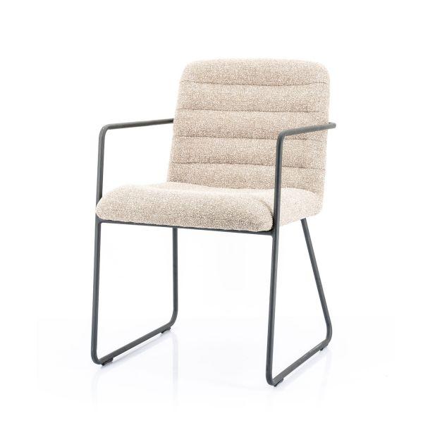 2er Set Armlehnstuhl Artego beige Esszimmerstuhl Stuhl