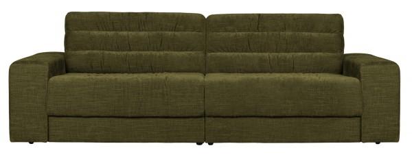 BePureHome 2 Sitzer Sofa Date vintage grün Couch