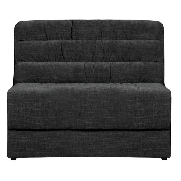 BePureHome Erweiterungselement 90 cm für Sofa Date vintage Samt anthrazit