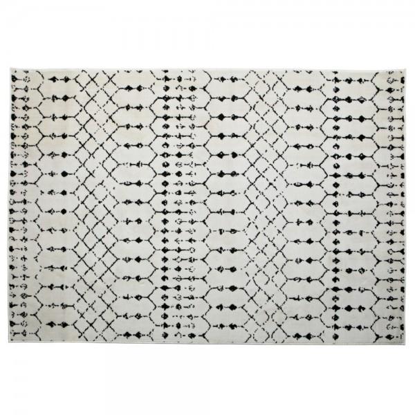 Vintage Wohnzimmer Teppich Sansa 170 x 240 cm Jute Teppiche Carpet Shabby Look