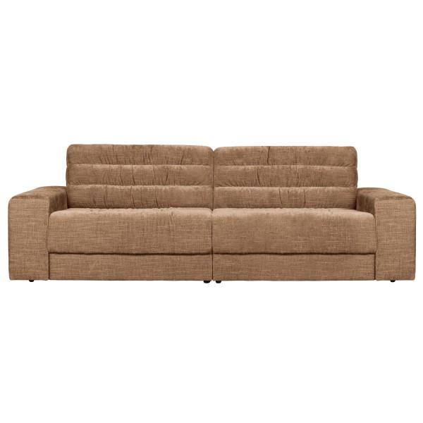 BePureHome 2 Sitzer Sofa Date 226 cm vintage Samt sirupfarben Couch