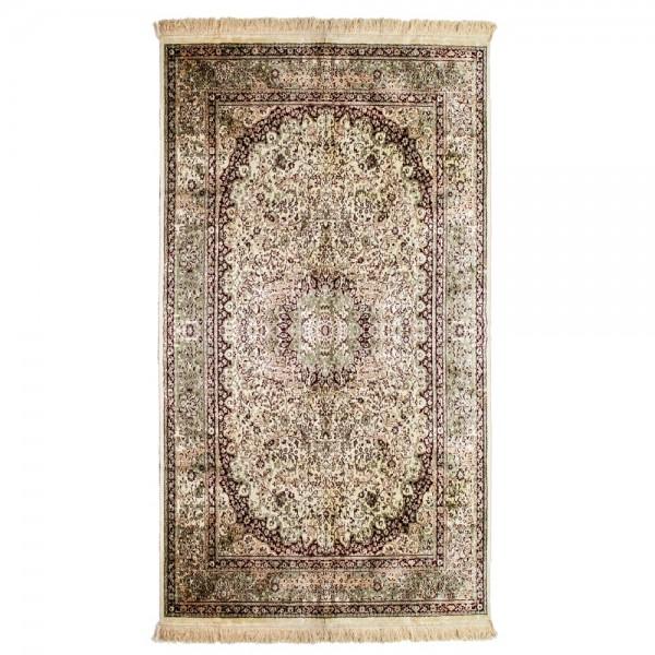 Wohnzimmer Teppich Läufer Sultan 160 x 73 cm Viscose Teppiche Carpet Landhaus
