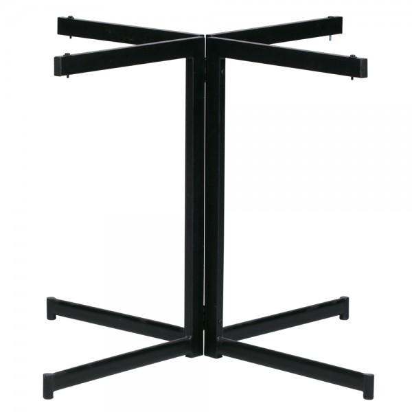 Tischgestell Kreuz Form Tischkufen Tischgestell Tisch Tischfüße Metall schwarz