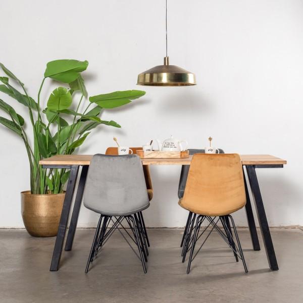 Giga Esstisch Mansour 210 x 90 cm Tisch Mango Holz
