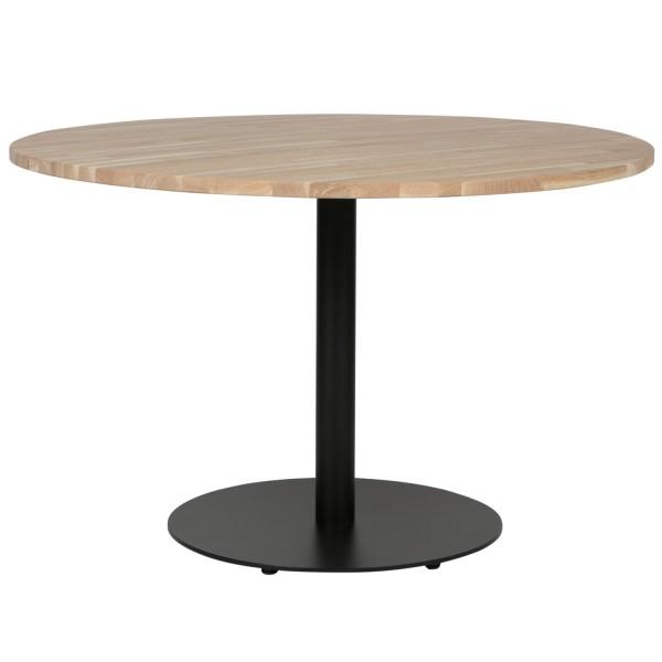 woood Tischplatte Tablo rund Ø 120 cm Eiche Natur unbehandelt