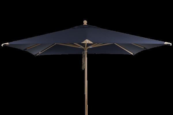Sonnenschirm Como Parasol Ø 300 cm blau Terrassenschirm Schirm