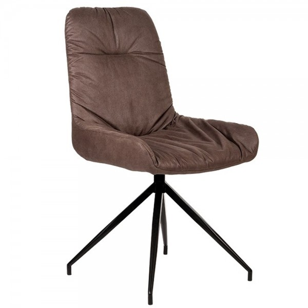 Stuhl WINNER trüffel Polsterstuhl Microfaser Sessel Esszimmer Esszimmerstuhl Dinnerstuhl