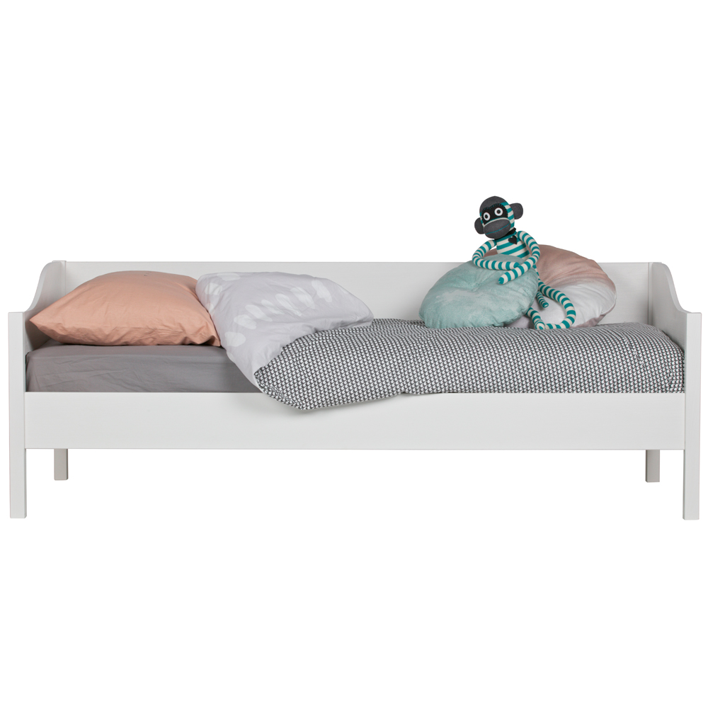 Sofabett Eliza Kiefer Weiss Kinderbett Jugendbett Bettkasten Bett Sofa Tagesbett