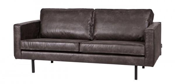 BePureHome 2,5 Sitzer Sofa RODEO Leder Vintage schwarz
