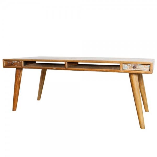 Vintage Esstisch 4 Schubladen Holztisch Dinnertisch Tisch Esszimmertisch massiv