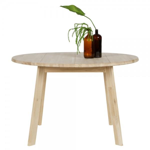 Esstisch DISC Ø 120 cm Holztisch Dinnertisch Tisch Esszimmertisch Eiche natur