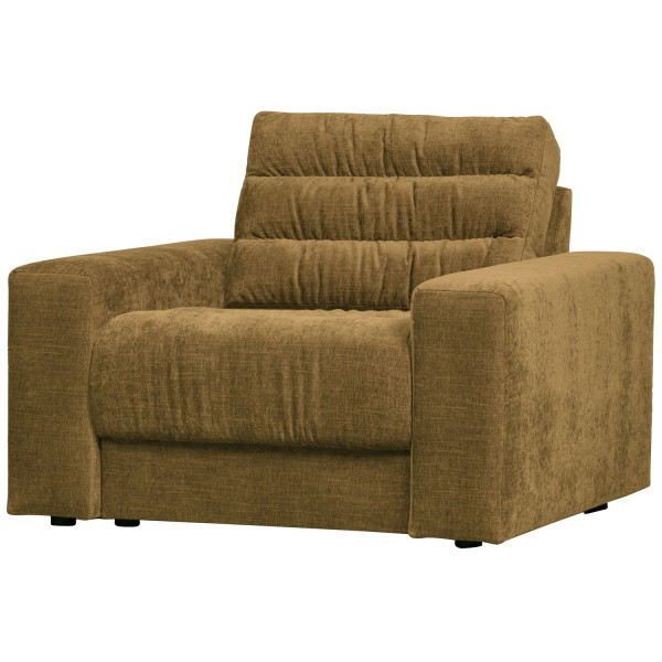 BePureHome Sessel Date vintage goldfarben Loungesessel Clubsessel