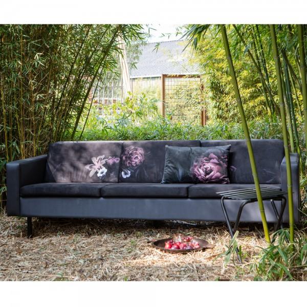 3 Sitzer Sofa Rodeo Graphit Garten Outdoor Couch Lounge Gartenmöbel