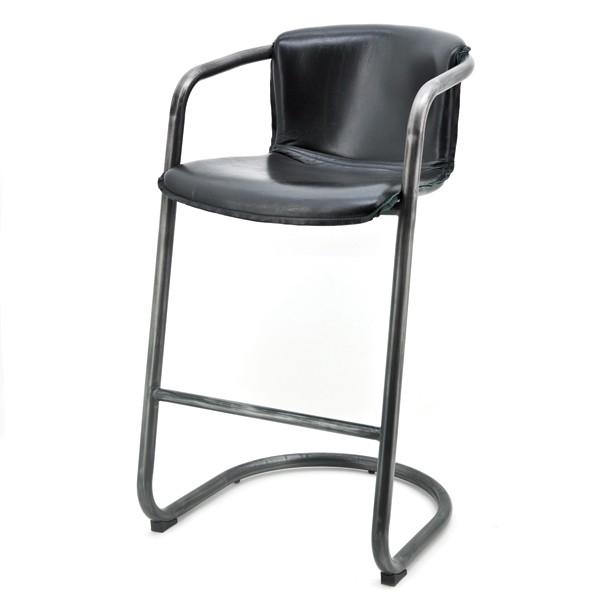 barhocker norbert sitzh he 74 cm vintage leder bar. Black Bedroom Furniture Sets. Home Design Ideas