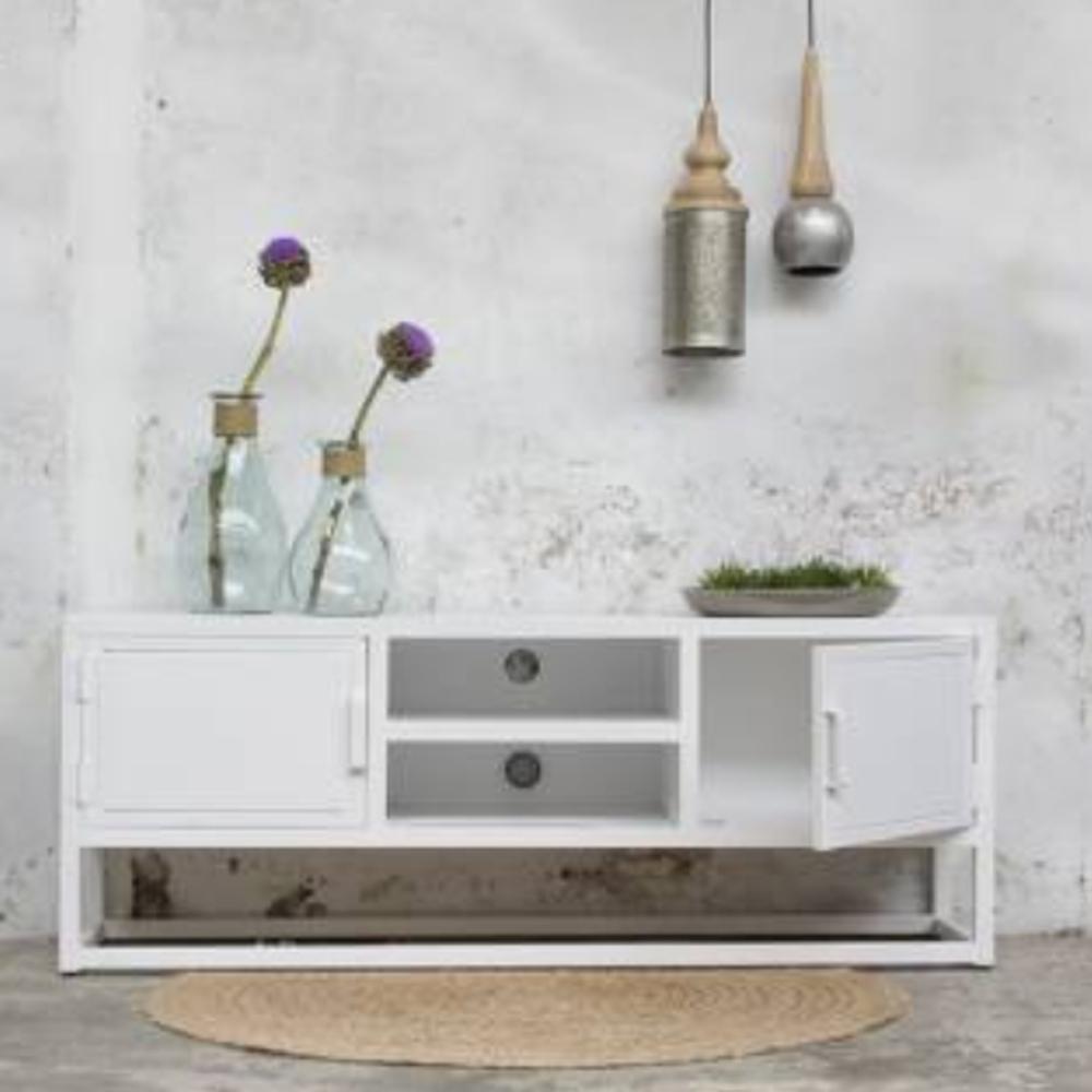 industrie design tv m bel urban tisch fernseh kommode rack. Black Bedroom Furniture Sets. Home Design Ideas