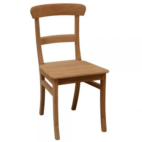 Esszimmerstuhl SEM Teakholz Küche Stuhl Lehnstuhl Küchenstuhl Vierfußstuhl