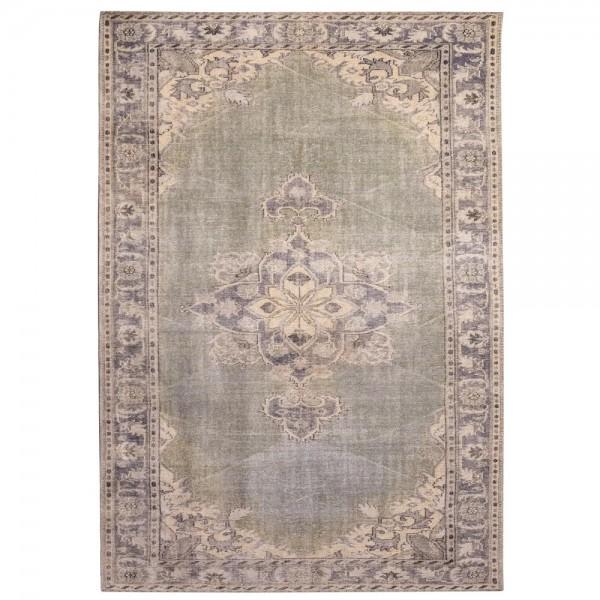 Vintage Teppich Blush 160 x 230 cm grün Oriental Persisch Muster Carpet klassisch orientalisch