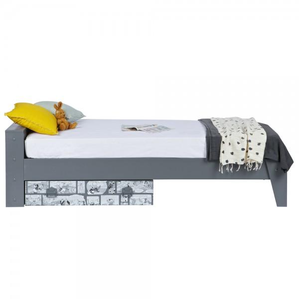 Kinder Jugend Bett DONALD DUCK 200 x 90 cm Kinderbett Jugendbett inkl Bettkasten