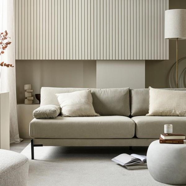 vtwonen 3 Sitzer Sofa Sleeve grau Couch