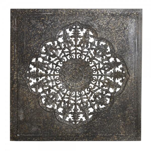 PTMD Wandbild SELMA S 70 x 90 cm Holz natur bronze