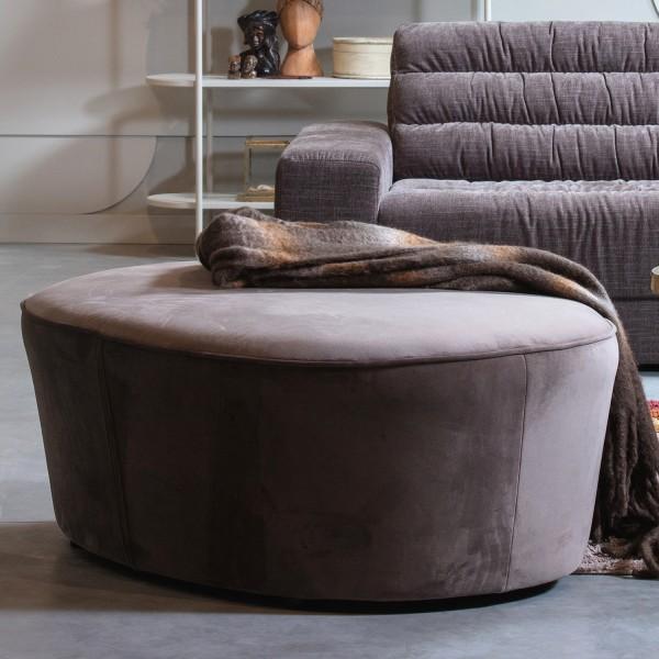 BePureHome Sofa 110 cm Macaroni Samt nougat