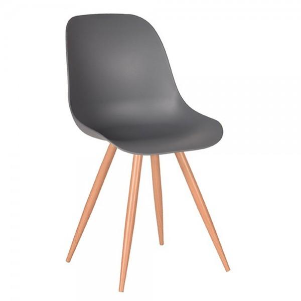 Schalenstuhl Rimini anthrazit Esstisch Stuhl Esszimmerstuhl Esszimmer Dinnerstuhl Stühle