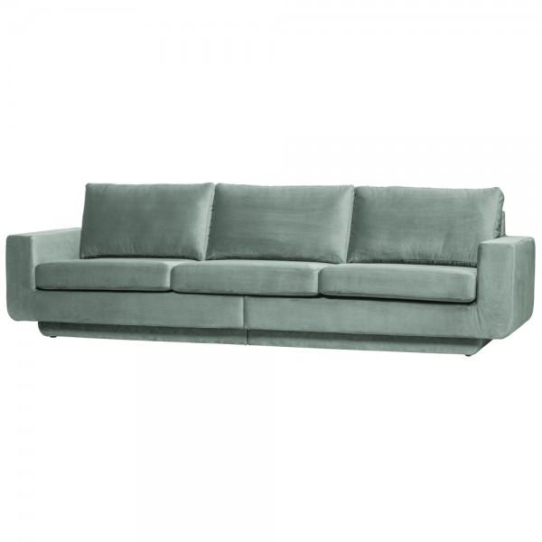 be pure 3 Sitzer Sofa Fame 282 cm Samt Velvet mint Couch