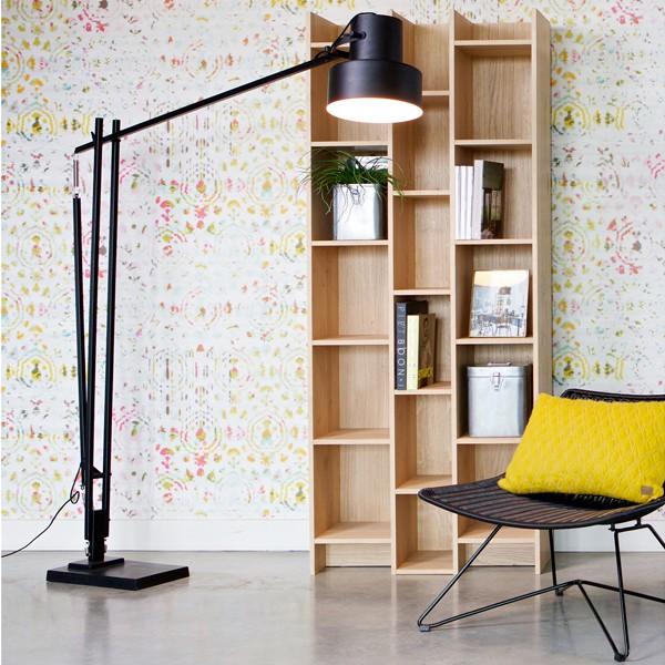Bücherregal EXPAND Breite 80 cm Eiche Holz Schrank Regal Büro Wohnzimmer