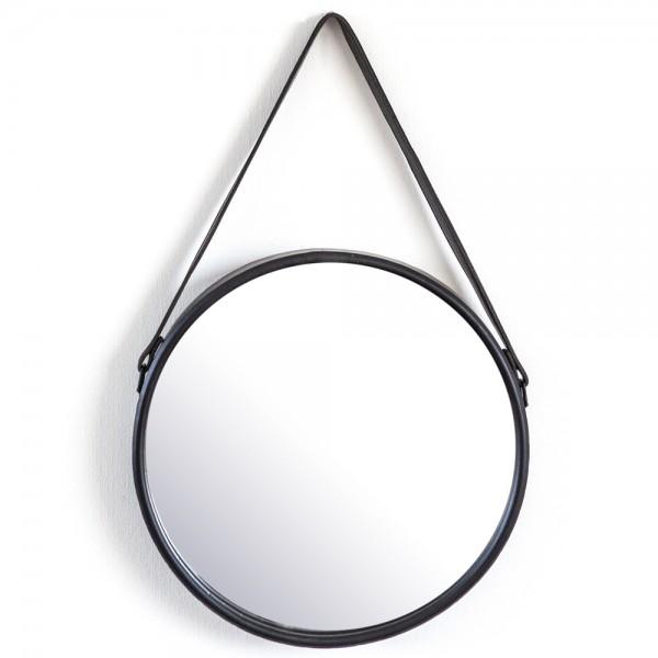 Wandspiegel Flection Ø 40 cm Spiegel Wanddeko Dekospiegel Mirror Metallrahmen