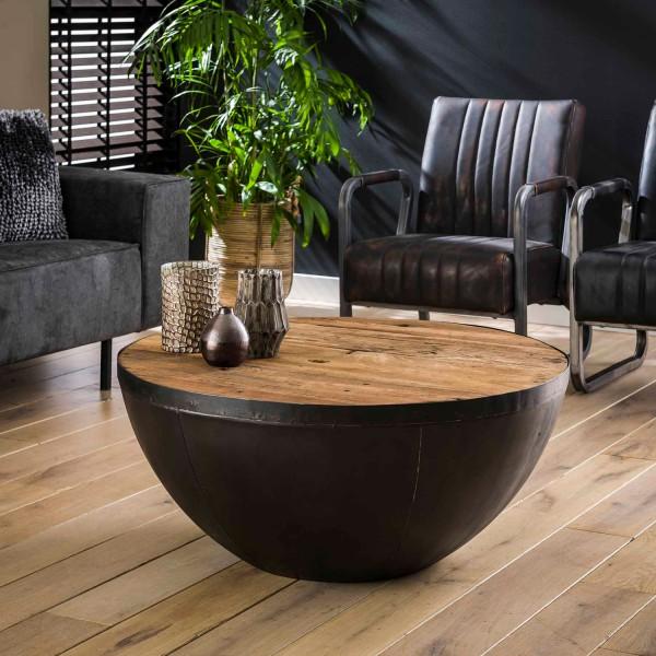 Couchtisch FLOAT rund Bowl Ø 90 cm Beistelltisch Sofatisch