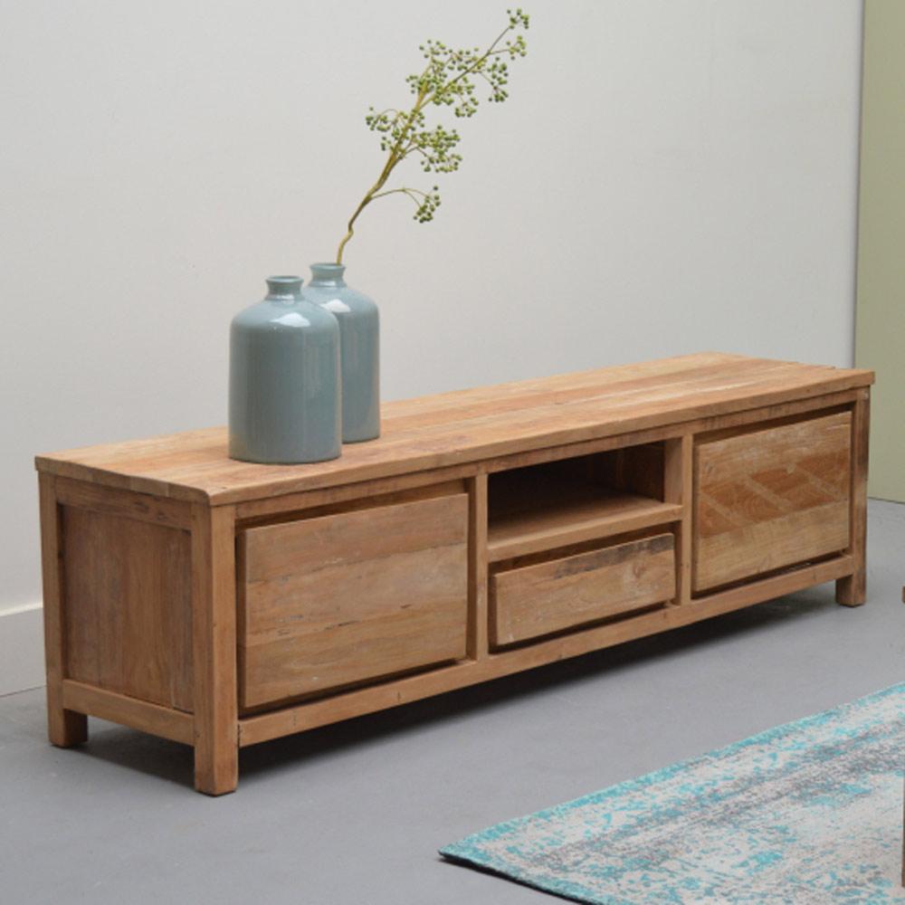 vintage tv m bel los angeles b 180 cm lowboard board. Black Bedroom Furniture Sets. Home Design Ideas