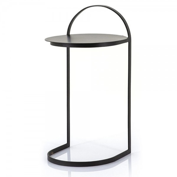 BY-BOO Beistelltisch Garcon H 65 cm Metall schwarz