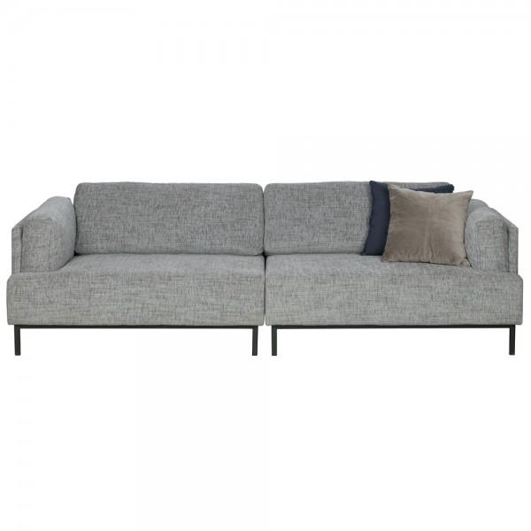 3 sitzer sofa uma new stoff grau lounge couch garnitur loungesofa couchgarnitur - Couch Grau Stoff