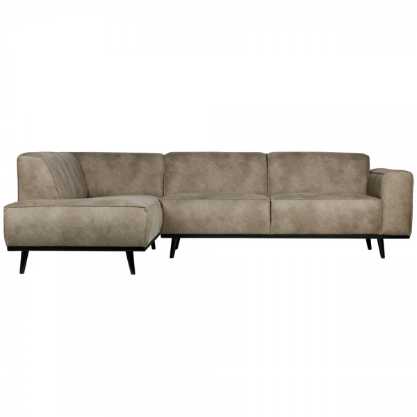 Eckgarnitur Statement Elefantenhaut grau Couch Sofa Ecksofa Eckcouch Longchair Links